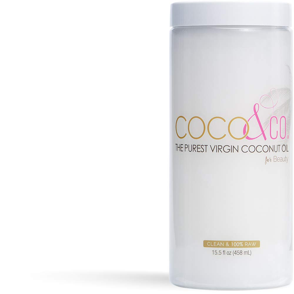 Amazon Com Ultra Pure Organic Virgin Coconut Oil For Hair Skin Body Scalp And Hair Growth By Coco Co Beauty