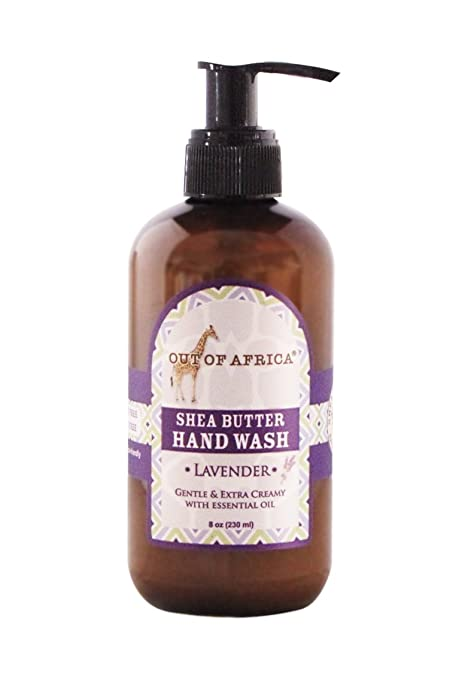 Out of Africa Lavender Hand Lotion, 8-Ounce Bottles (Pack of 2)
