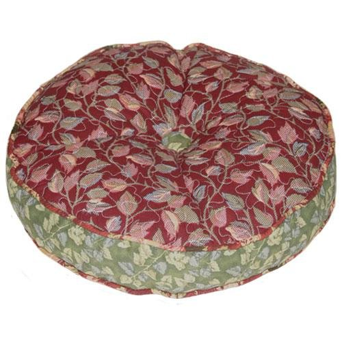 Lenny Quilted Round Decorator Pillow