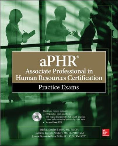 aPHR Associate Professional in Human Resources Certification Practice Exams ebook
