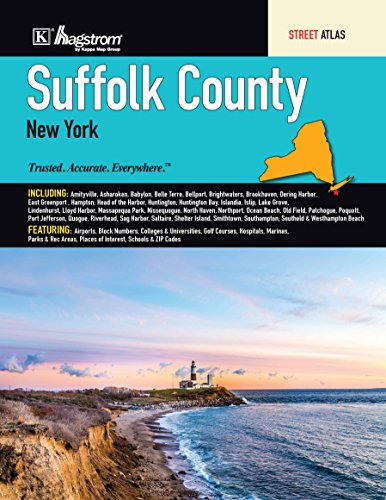 Suffolk County, NY Street Atlas Kappa Map