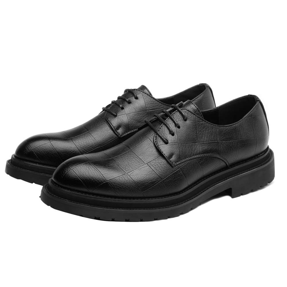 Shufang-shoes Men Business Oxford Shoes Casual Chic Classic Soft and Comfortable Outsole Formal Shoes