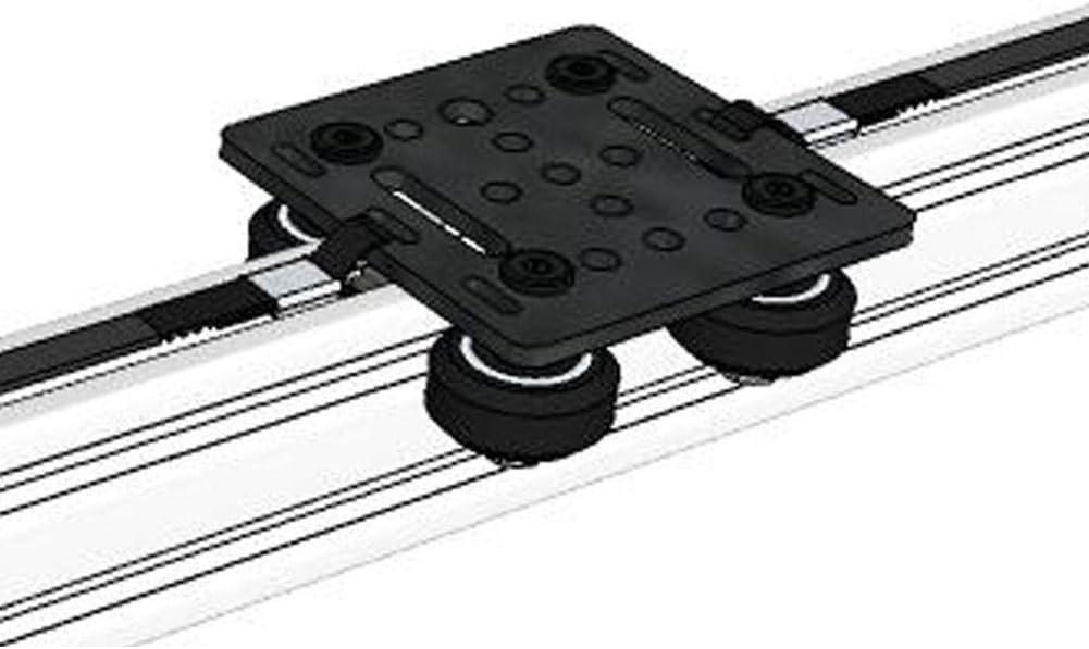 Mavis Laven Plaque pour Panneau de Construction pour Panneau de Construction 20 mm V-Slot pi/èces et Accessoires dimprimante 3D Noir