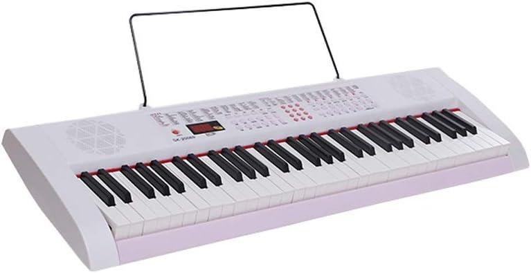 LIUFS-El teclado Teclado 61 Teclas Teclas Piano Niños Adultos ...