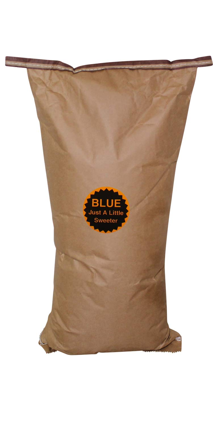 Amish Country Popcorn - 50 Pound Bag Blue Kernels - Perfect for Fundraiser -Old Fashioned, Non GMO, Gluten Free, Microwaveable, Stovetop and Air Popper Friendly with Recipe Guide by Amish Country Popcorn