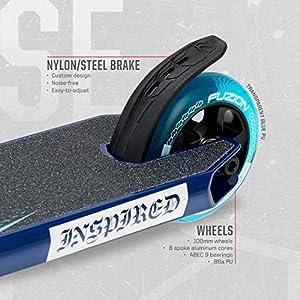 Fuzion Z250 Trotinette Freestyle Pro – Trottinette Freestyle Enfant