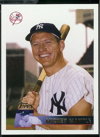 1996 Topps Mickey Mantle Baseball Card Baseball Card #MM1996 Mickey Mantle