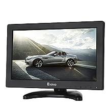 "Eyoyo 12""Inch TFT LCD CCTV HDMI HD Monitor Color Screen with AV/HDMI/BNC/VGA Function For Car DSLR & PC & DVD & Car Backup Camera"