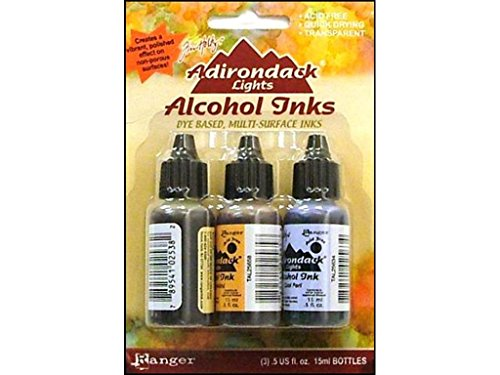 Ranger Adirondack Alcohol Ink Set Wildflowers (Adirondack Lights Alcohol Ink)