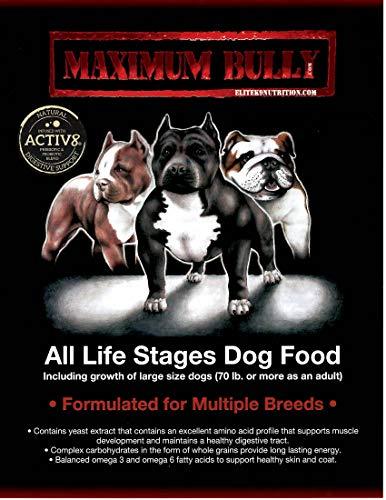 Maximum Bully Elite K9 Nutrition Chicken And Pork Dog Food, 33 Pound 2
