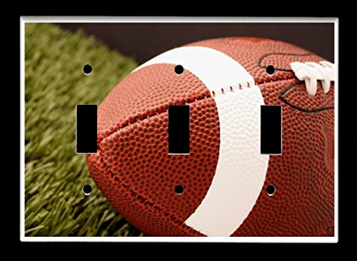 gle) Light Switch Plate Cover - Sports Recreation - Football ()