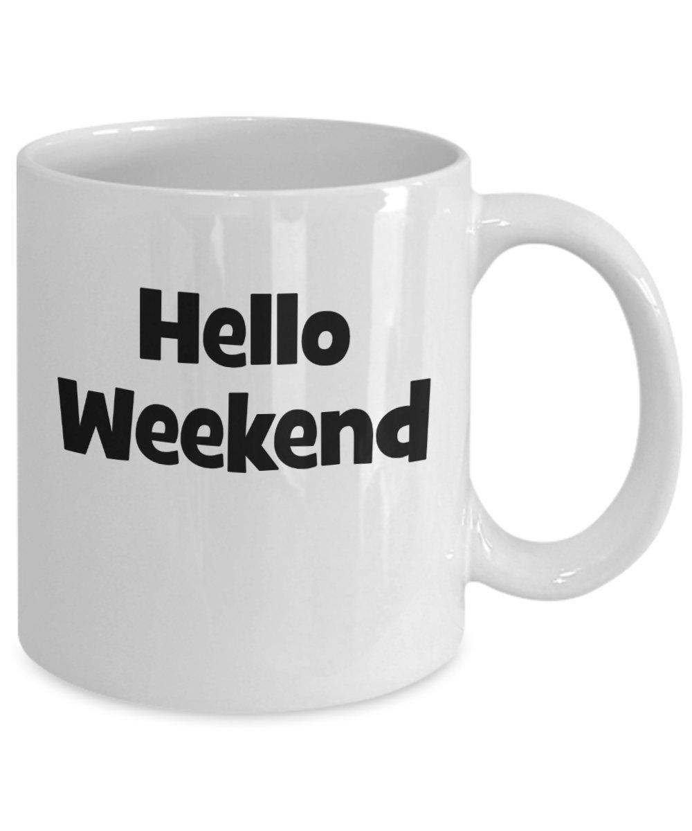 Amazon Hello Weekend Mug