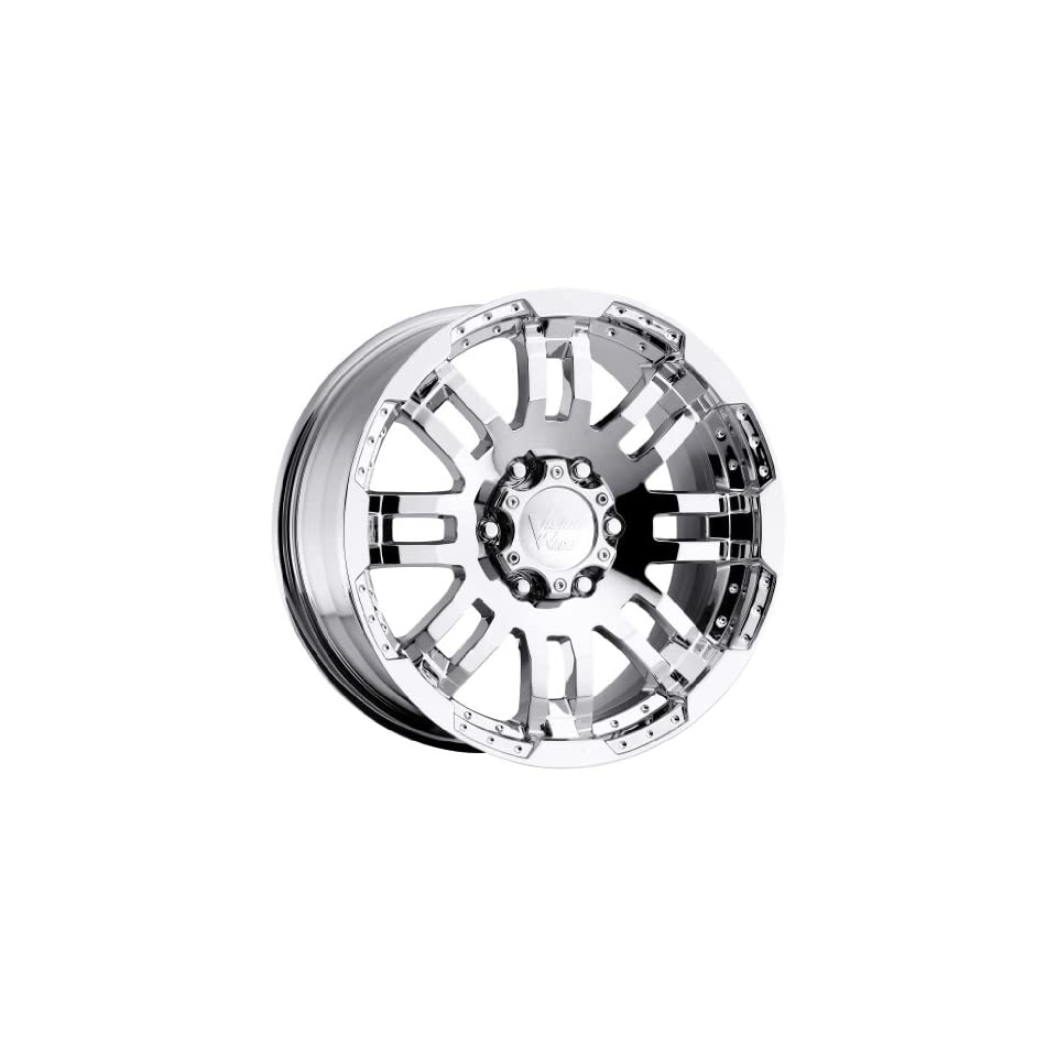 Vision Warrior 18 Chrome Wheel / Rim 5x5.5 with a 18mm Offset and a 108 Hub Bore. Partnumber 375H8885PC18