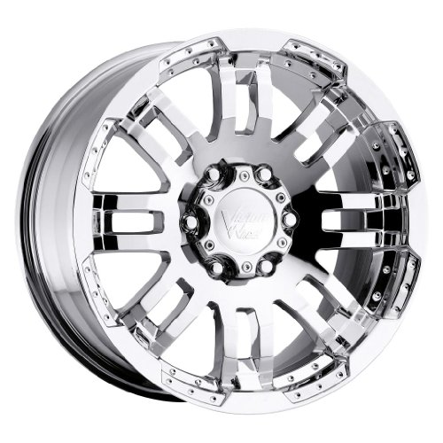UPC 886821120758, Vision Warrior 18 Chrome Wheel / Rim 6x4.5 with a 18mm Offset and a 73 Hub Bore. Partnumber 375H8886PC18