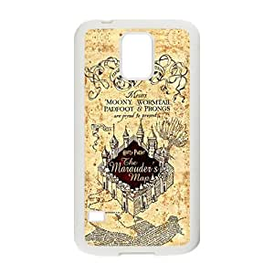 Harry Potter map Phone Case for Samsung Galaxy S5 Case