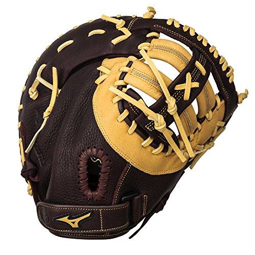 Baseball 1st Base - Mizuno 312453.R887.09.1250 Franchise GXF90B2 First Base Mittens, Coffee Cork, 12 1/2