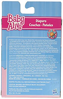 Baby Alive Diapers Pack from Baby Alive