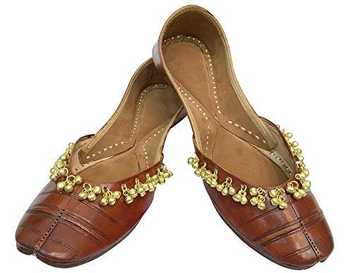 Broderade Steg N Style Payal Skor Skor Finskor Punjabi Jutti Khussa Skor