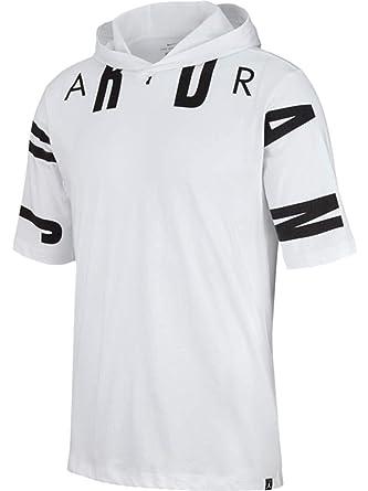 finest selection 65d89 3fe63 Jordan Sportswear 23 Men s Hooded T-Shirt - AA1915 at Amazon Men s Clothing  store