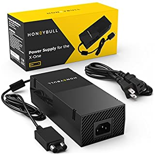 HoneyBull Xbox One Power Supply [Cool & Quiet] Xbox One Power Brick [110-240V]