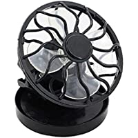 Solar Fan, Inkach Portable Clip On Solar Cell Fan Solar Power Energy Panel Cooling Summer Cooler