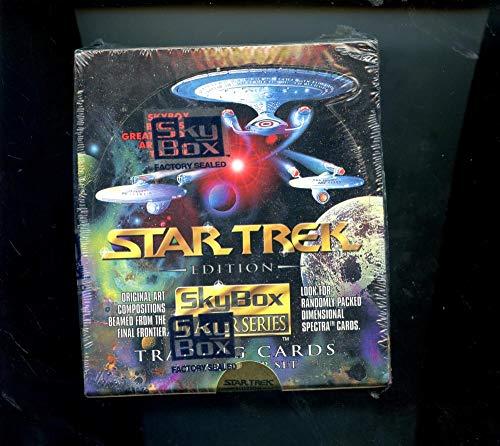 1993 Skybox Star Trek Master Series Set Trading Card Wax Pack Box The Next Generation Deep Space Nine