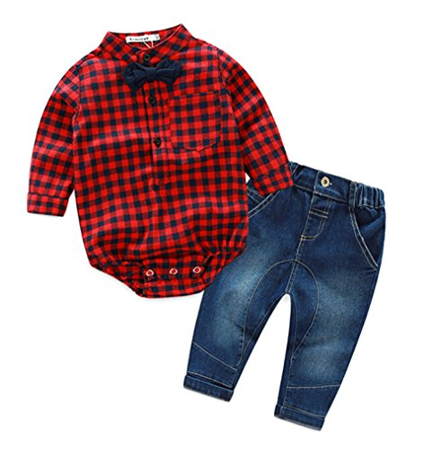 Plaid Boys Shirt - 4