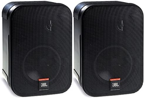 JBL Skilled C1PRO Excessive Efficiency 2-Method Skilled Compact Loudspeaker System, Black , Offered as Pair, 9.30 x 6.30 x 5.60 inches