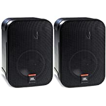 JBL Control 1 Pro High Performance 2-Way Professional Compact Loudspeaker System, Black (sold as pair)