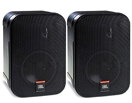JBL Control 1 Pro High Performance 150-Watt Miniature Studio Monitor  Speaker (Pair, Black)