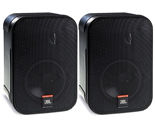 JBL Professional Control 1 Pro High Performance 2-Way Professional Compact Loudspeaker System, Black (sold as pair) - C1PRO ()