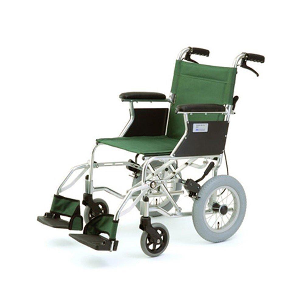 介助式車いす ミニポン グリーン HTB-12-GR 車椅子 車イス B00CWTBBX2
