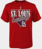 VF St. Louis Cardinals MLB Mens Majestic Walk Off Homer Shirt Red Adult Sizes