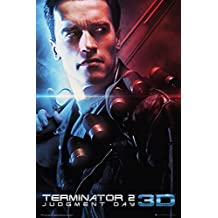 "Terminator 2: Judement Day - Movie Poster / Print (3D Release - Regular Style) (Size: 24"" x 36"") (By POSTER STOP ONLINE)"