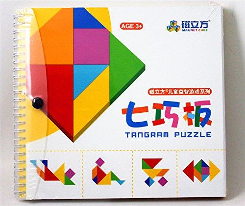 enfants Colorful jeu de réflexion Tangram Puzzle (Big)