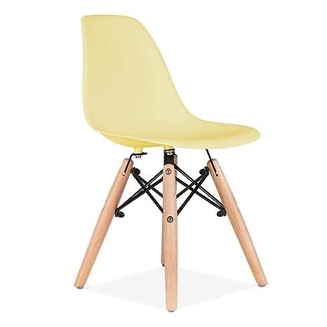 Charles Eames bambini sedia DSW - limone: Amazon.it: Casa e cucina