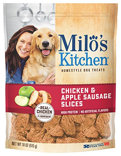 Recipes Dog Apple Treat (Milo's Kitchen Home Style Dog Treats, 18 Ounce - Chicken & Apple)