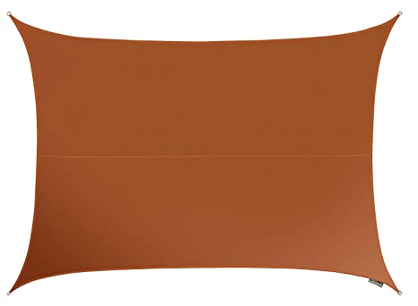 Tende A Vela Impermeabili.Tenda A Vela Kookaburra Impermeabile Di Colore Terracotta 5 0mt X
