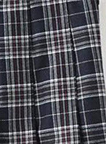 Pattern Fashion Mini Pleated Skirt Light Women's Achicgirl Plaid Grey tpx6BzBq