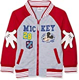 Disnéy Mickey Mouse Zipped Jacket (Red, 3 Years)