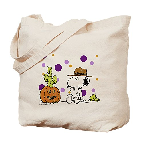 CafePress - Spikey Halloween Trick Or Treat Bag - Natural Canvas Tote Bag, Cloth Shopping Bag for $<!--$22.95-->