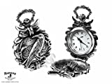 Alchemy Gothic Nevermore Fob Watch