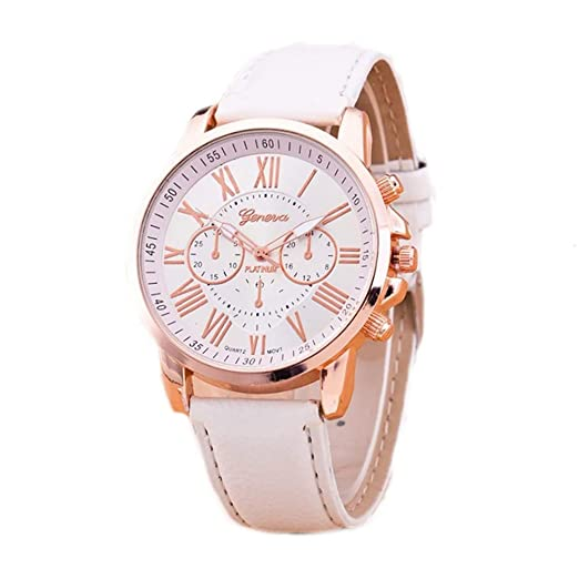 a80f30da9ee1 Ladies para niños y niñas para mujer deporte ginebra reloj inteligente en  color oro rosa y