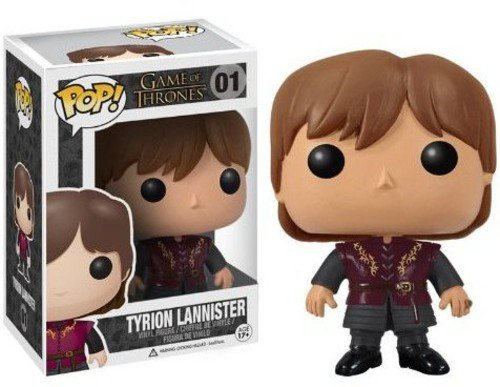 Funko 3014 - Game Of Thrones, Tyrion Lannister, figura de vinilo, 10 cm