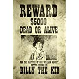 Billy The Kid Wanted Vintage Style Art Print Poster 12x18
