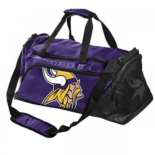 NFL Minnesota Vikings Locker Room Collection Medium Duffle Bag by Forever