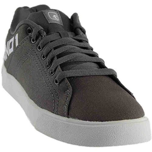 En1 Basic Lage Canvas Veterschoenen Heren Grijs