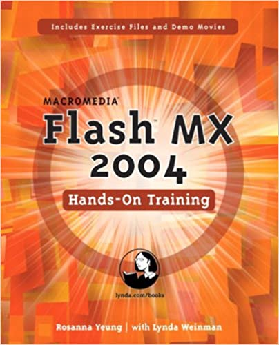 Macromedia Flash MX 2004 Hands-on Training book cover