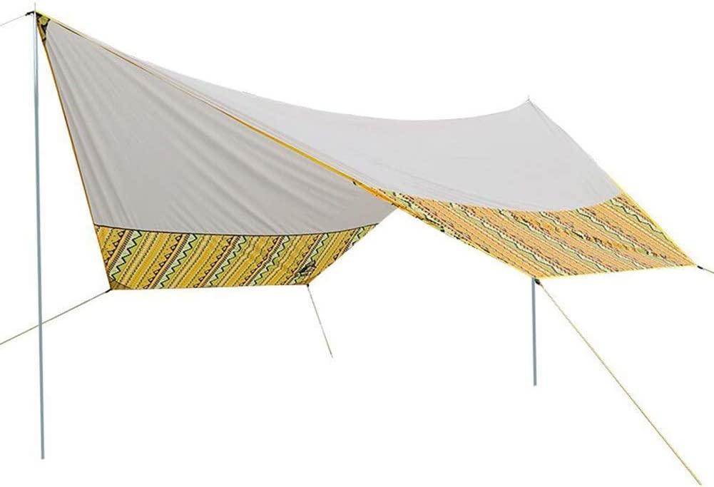 CAIJUN Toldo Impermeable Refugio Playa Lona Carpas De Camping Al Aire Libre Portátil Impermeable Protector Solar Toldo De Playa Pérgola Plegable Reforzarse Durable (Size : 4x4.65m): Amazon.es: Hogar