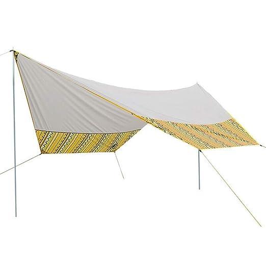 CAIJUN-Shade toldo de Tela para Camping, toldo para Exteriores ...